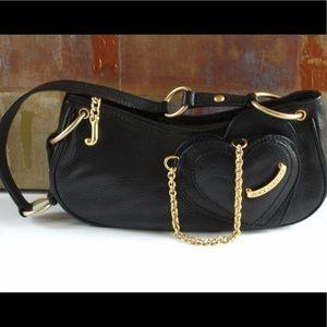 Black juicy small purse